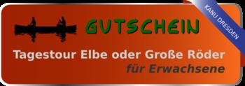 Gutschein Tagestour Elbe für Erwachsene